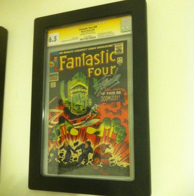 Fantastic Four 49 Apr 1966 Marvel CGC SS Stan Lee