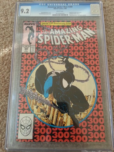 The Amazing SpiderMan 300 May 1988 Marvel CGC 92