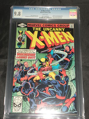 The Uncanny Xmen 133 CGC Graded 98 WHITE Pages Wolverine Byrne Art