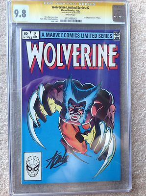 WOLVERINE LIMITED 2 CGC SS 98 STAN LEE   Movie w 1st full Yukio Appearance