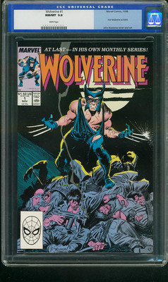 Wolverine 11988 CGC 98 White Pages 2nd Highest Graded Copy