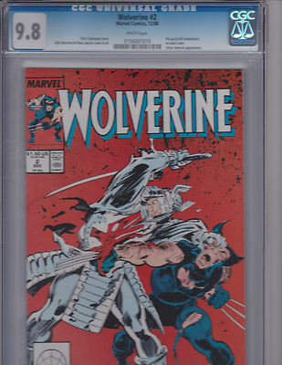 Wolverine 2 98 CGC  vs Silver Samurai Free Shipping Available