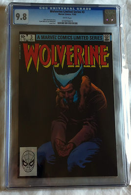 Wolverine Limited 3  1182  CGC 98 White Pages   Basis of Movie