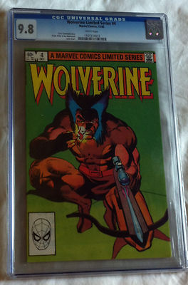 Wolverine Limited 4  1282  CGC 98 White Pages  Basis of Movie