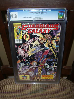 Guardians Of The Galaxy 1 1990 CGC 98 with White Pages  NO RESERVE