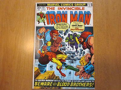 Iron Man 55 Marvel 1973 1st Thanos Very High Grade CGC Ready