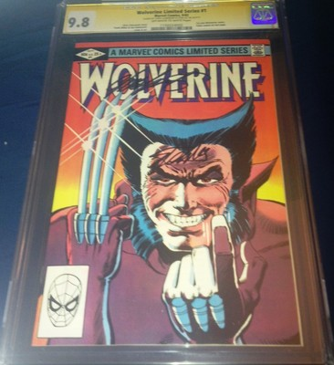 Wolverine 1 Limited CGC SS 98 SIGNED Stan Lee Chris Claremont Marvel Miller art
