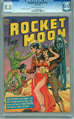 Rocket To the Moon nn CGC 85 VF High Grade Avon 1951 3rd Highest Graded