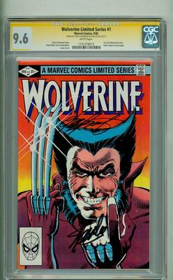 WOLVERINE LIMITED SERIES 1 CGC 96 SS STAN LEE CHRIS CLAREMONT