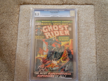 Marvel Spotlight 5 Aug 1972 Marvel 85 CGC