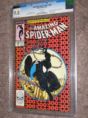 AMAZING SPIDERMAN 300 CGC 98 1st Appearance of Venom 1988 TODD MCFARLANE Art