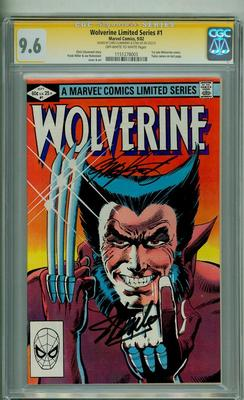 WOLVERINE LIMITED 1 CGC 96 SS STAN LEE CHRIS CLAREMONT SIGNATURE SERIES