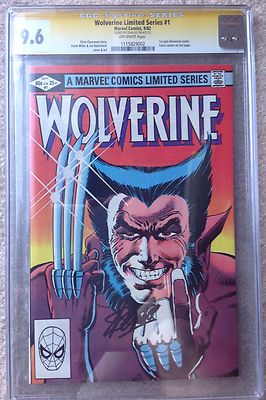 WOLVERINE LIMITED 1 CGC SS 96 STAN LEE Movie w 1st Yukio appearance