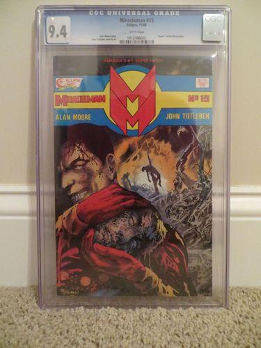 Eclipse Comics Miracleman 15 1988 CGC 94 Death of Kid RARE