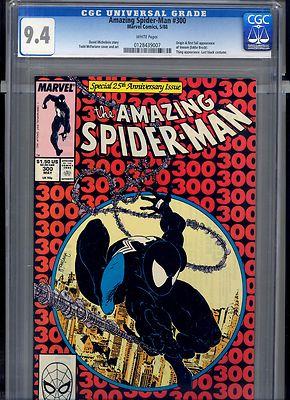 The Amazing SpiderMan 300 May 1988 Marvel CGC 94 VENOM