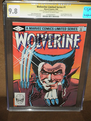WOLVERINE LIMITED 1 CGC SS 98 STAN LEE and CHRIS CLAREMONT NO RESERVE