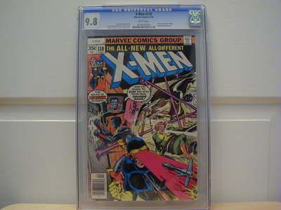XMen Vol 1 110 CGC 98 NMMint WHITE Pages MARVEL Chris Claremont 1978 Phoenix