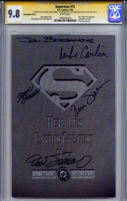 superman #75 cgc