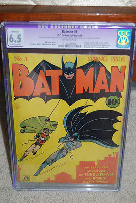 Batman 1 CGC 65 R DC 1940 Golden Age Holy Grail 111 cm 5000 feedback