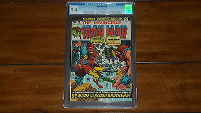 IRON MAN 55 CGC 94  1ST APPEARANCE THANOSDRAX THE DESTROYER  KEY ISSUE