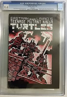 TEENAGE MUTANT NINJA TURTLES 1 CGC 94 FIRST  1ST PRINTING TMNT Comic