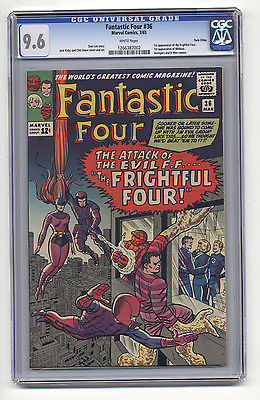 Fantastic Four 36 CGC 96 NM First MEDUSA INHUMANS Twin Cities WHITE PAGES