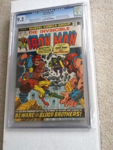 Iron Man 55 Feb 1973 Marvel CGC 92 FIRST THANOS AND DRAX