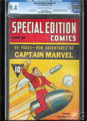 Special Edition Comics 1 CGC 94 NM Universal No Reserve