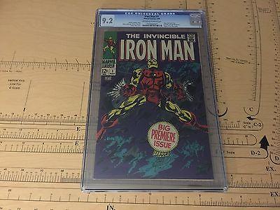 iron man 1 cgc 92