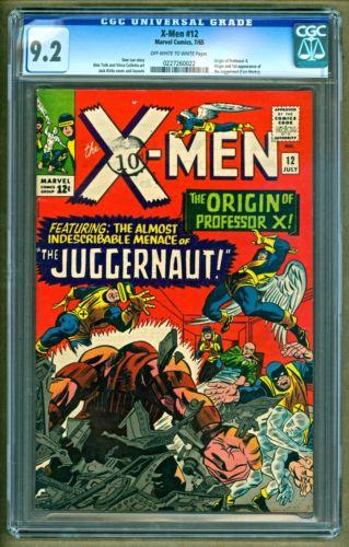 XMen 12 1965 Marvel Comics 1st appearance of Juggernaut Key Issue CGC 92
