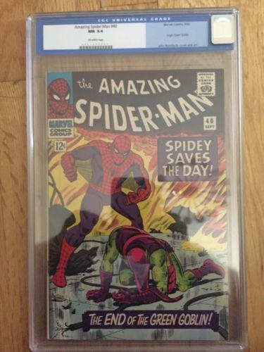 The Amazing SpiderMan 40 Sep 1966 Marvel CGC 94