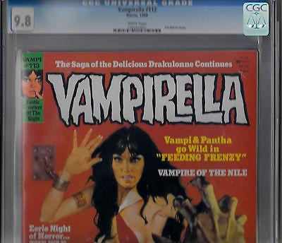 Vampirella 113 1988 Harris Comics  cgc 98 SINGLE  HIGHEST GRADED COPY