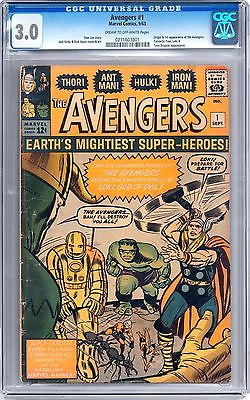Avengers 1 CGC 30 COW 1st Appearance of the Avengers Age of Ultron Iron Man