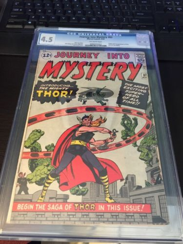 Journey Into Mystery 83 CGC 45 1st Appearance Thor Marvel Comic Silver Age Key