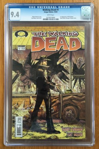 The Walking Dead 1 CGC 94 NM White Pages 1st Print 2003 Modern Monster Key