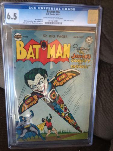 BATMAN 66 CGC 65 GOLDEN AGE DC COMIC FROM 1951