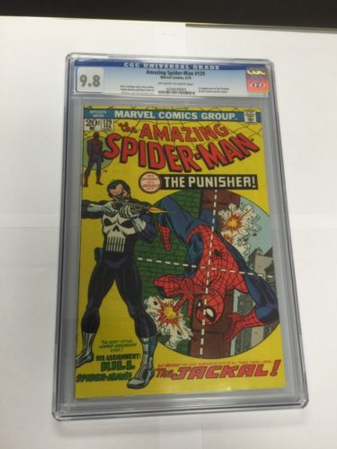 Amazing SpiderMan 129 Cgc 98 Off White To White Pages