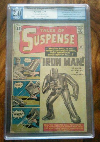 Tales of Suspense 39 Mar 1963 Marvel 1st Iron Man PGX Like CGC graded 20