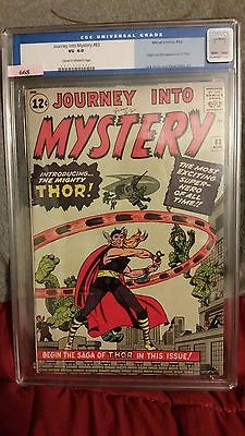 Journey into Mystery 83 Aug 1962 Marvel CGC 40 First Appearance of Thor