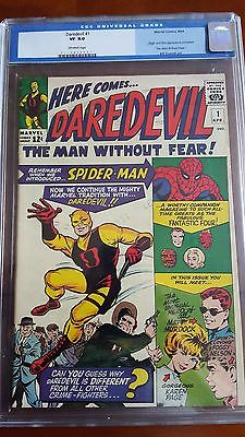 DAREDEVIL 1 CGC 80 OW PAGES NETFLIX