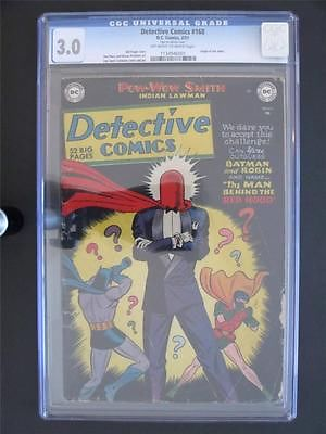 Detective Comics 168 DC 1951  CGC 30  ORIGIN of The Joker  Batman  Robin