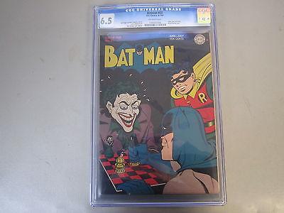 BATMAN 23 CGC 65 COMIC BOOK  JOKER COVER STORY  ALFRED BACKUP STORY RARE