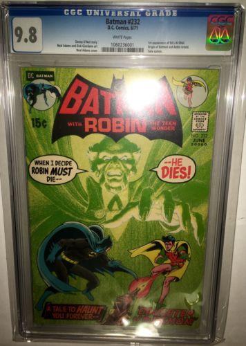 Batman 232 Cgc 98 WP