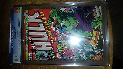 Marvel Incredible Hulk 181 1174 CGC 85 First Full Appearance of Wolverine VF