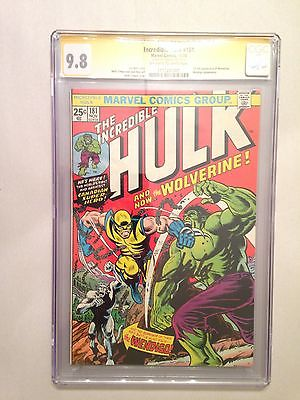 The Incredible Hulk 181 Nov 1974 Marvel CGC SS 98 Holy Grail Alert