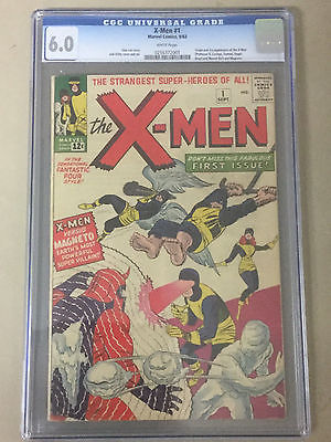 XMen 1 CGC 60 Origin and 1st Appearance of XMen  Magneto