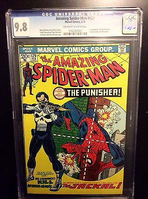 Amazing Spiderman  129 CGC 98 1 st Punisher  Daredevil Series Movie