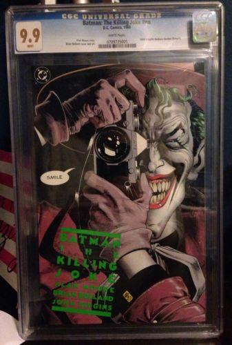 The Killing Joke CGC 99 nn 1ST Print NOT 98 DC 1988 MINT Joker Batman