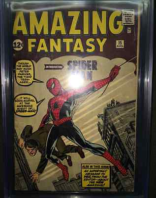 Amazing Fantasy 15 CGC 05 1st Appearance of SpiderMan