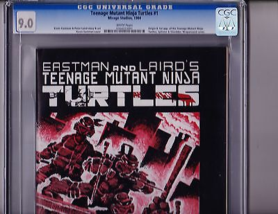 Teenage Mutant Ninja Turtles  1     CGC  90      1st Print     RARE     1984